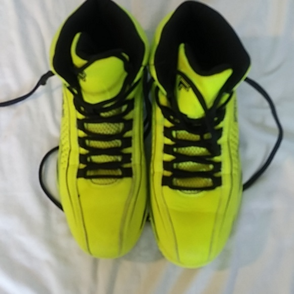 Fila Shoes Mens Yellow High Top Tennis Poshmark